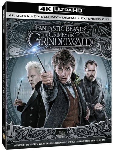 'Fantastic Beasts: The Crimes of Grindelwald' 4K and Blu-ray Feature Extended Cut