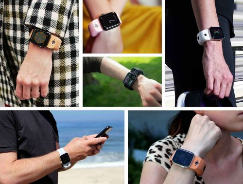 Apple Watch Thick 'WristCam' Band Comes with Shutter Button for Photos and Videos-$200 Christmas Gift?