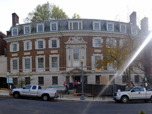 Amazon CEO Jeff Bezos' $23 million Washington, DC mansion will have two elevators, a ballroom and a whiskey cellar
