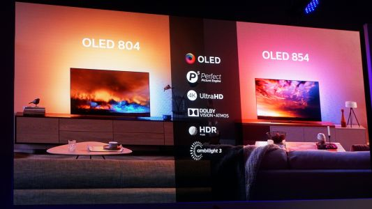 Philips OLED 804 and OLED 854: Dolby Vision, Atmos, HDR10+ and Ambilight