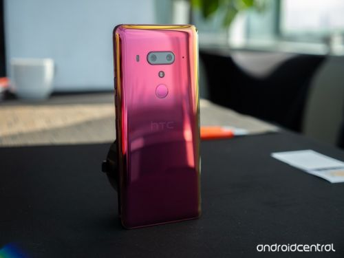 HTC U12+ hands-on preview: Big, beautiful, unattainable
