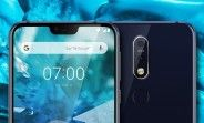 Leaked Nokia 7.1 Plus renders show a notch, dual Zeiss camera