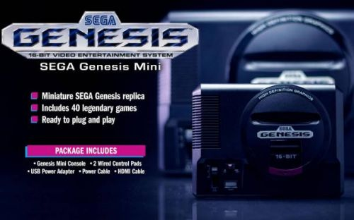 SEGA Genesis Mini pre-orders kickoff with 10 more titles revealed