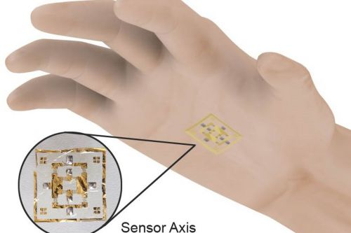 This electronic skin lets you manipulate objects without touching them