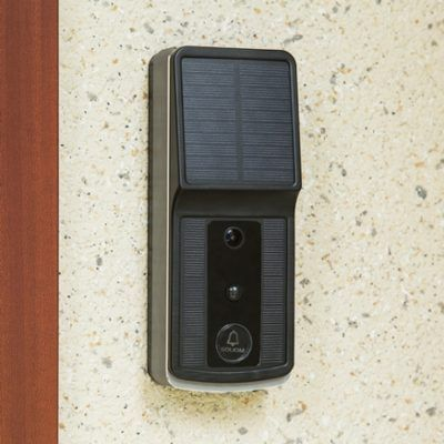 Soliom's New Wireless Video Doorbell Is Solar-Powered