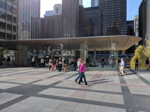 Take a look at Apple's first 'Town Square,' its most beautiful retail store yet