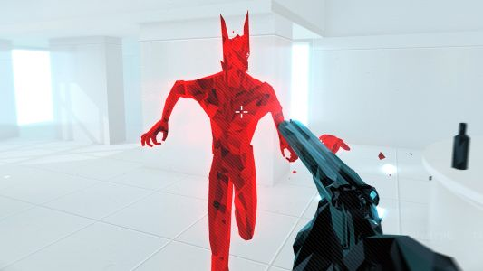 You can't pet the dog in Superhot: Mind Control Delete