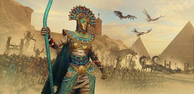 Total War: Warhammer 2 - Rise of the Tomb Kings DLC shambles out today