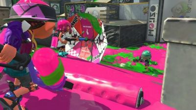 The Splat Brella Comes To Splatoon 2 Later Today