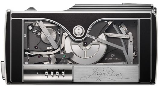 Jaquet Droz is shipping its mechanical signing machine