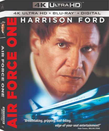 Harrison Ford in 'Air Force One' 4K Ultra HD Blu-ray Lands This November
