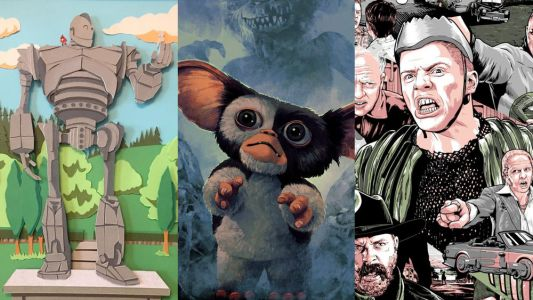 Fun Geek Art From Crazy 4 Cult 12 Art Show Featuring GREMLINS, BACK TO THE FUTURE, IRON GIANT, & More