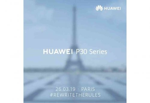 Huawei P30 will be revealed on March 26