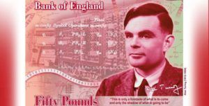 Bank of England to feature computer scientist Alan Turing in new £50 note