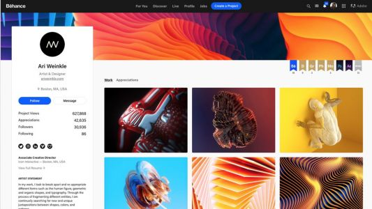 Behance reveals all-new look for 2019
