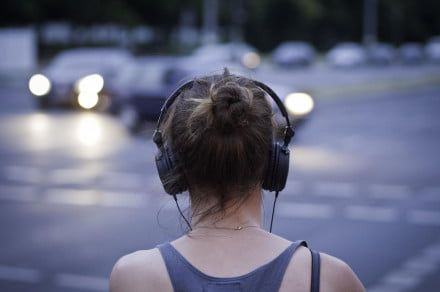 Apple may be making noise-canceling headphones safer to use on the streets