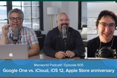 Google One vs. iCloud, iOS 12 features we want, Apple Store anniversary: Macworld Podcast