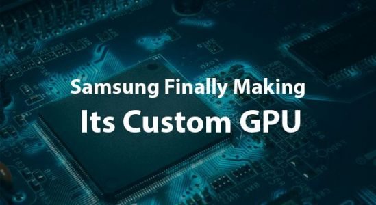 Samsung's gaming smartphone could be equipped with a custom GPU
