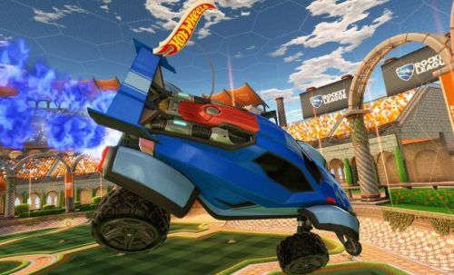 Rocket League comes to life with Hot Wheels remote control set