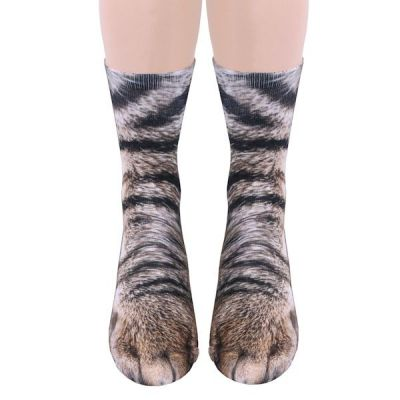 These Socks Turn Your Feet Into Paws