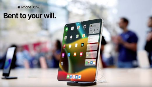 Stunning concept video shows us what Apple's foldable iPhone could look like
