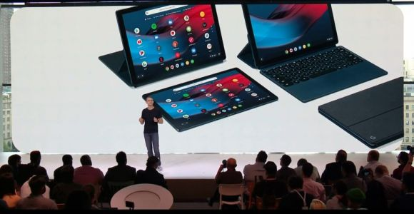 With Pixel Slate, Google sets sights on Microsoft's Surface Pro