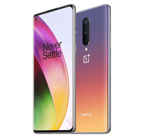 Official OnePlus 8 renders reveal spectacular 'Interstellar Glow' color option
