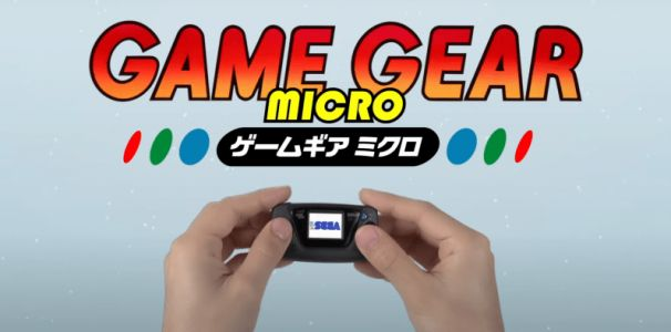 Sega announces a tiny Game Gear Micro launching in October