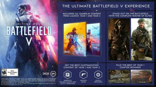 Battlefield 5 Definitive Edition Out Now, Here's Everything It Includes