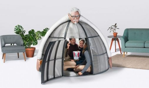 KFC's Internet Escape Pod is fantastically creepy