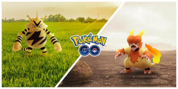 Pokemon Go will host two Community Days in November for Electabuzz and Magmar