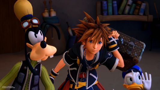 Kingdom Hearts III Takes NPD January