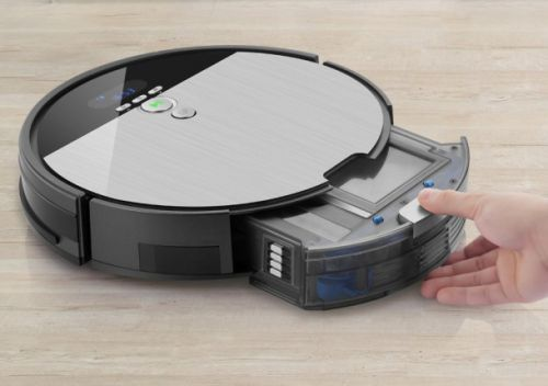 ILife's robot vacuum with multi-tasking and its own LCD display is on sale for $197