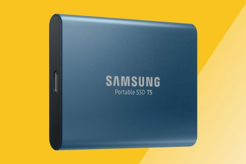 The Samsung T5, our favorite high-performance portable SSD, drops to $130-its lowest price yet