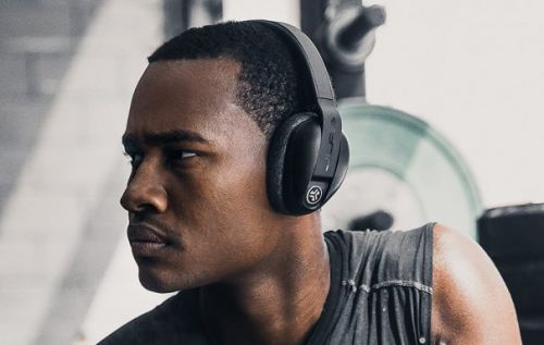 JLab Flex Sport over-ear wireless headphones are made for the gym