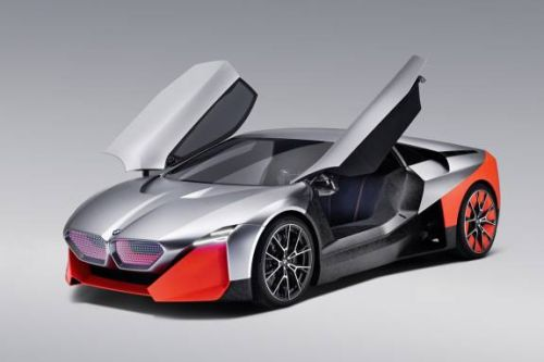 BMW Vision M NEXT is an anti-autonomous 600hp hybrid concept