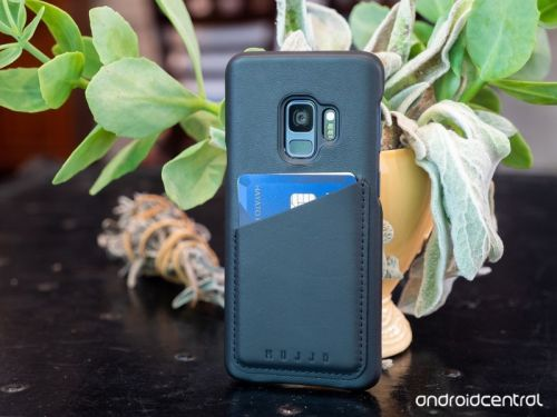 Mujjo leather wallet case for Galaxy S9 review: Cut down on your pocket carry
