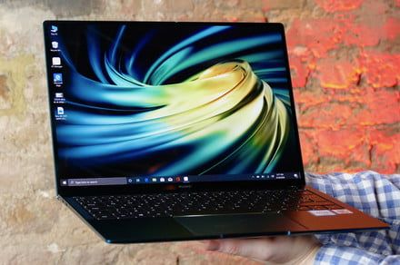 Huawei's new MateBook X Pro laptop comes in envy green, still has pop-up webcam