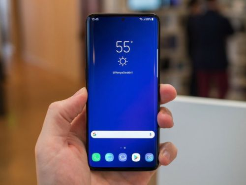 Leak shows alleged Galaxy S10+ prototype, but it's not what we expected