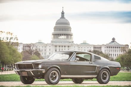 'Bullitt' Ford Mustang joins other American landmarks on the National Mall