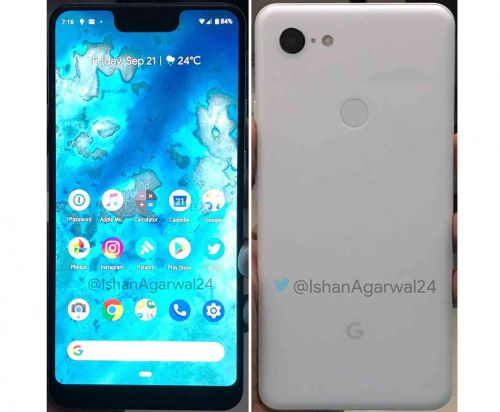 New Pixel 3 XL leak gives us another clear look at Google's upcoming flagship