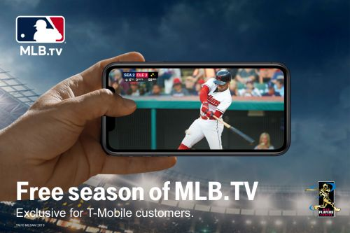T-Mobile Tuesdays will include free MLB.TV and a discount on sports tickets next week