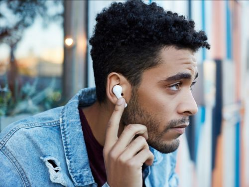 These wireless earbuds look exactly like Apple's AirPods - but they cost a fraction of the price and work with any smartphone