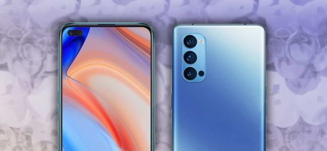 Oppo Reno4 and Reno4 Pro surface in leaked live photos