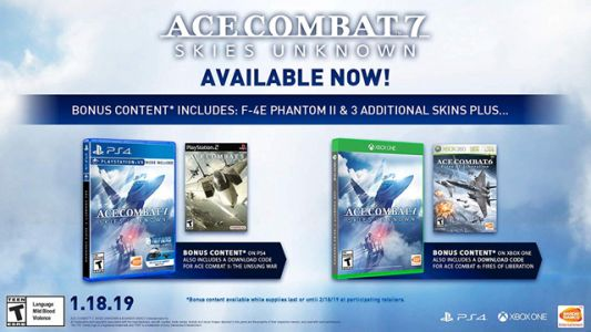 Daily Deals: Ace Combat 7 for $52, Comes With Additional Game