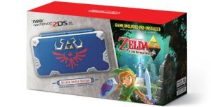 Nintendo announces new Zelda Hylian Shield-themed 2DS XL