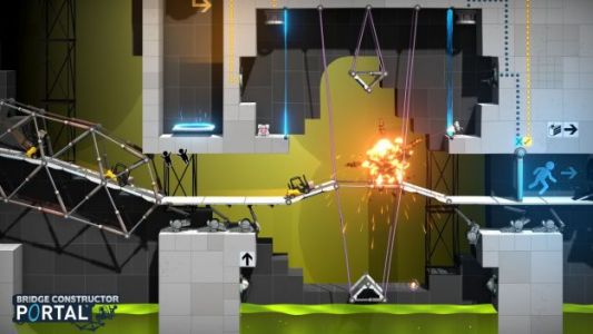 Bridge Constructor Portal is Almost a New Valve Game