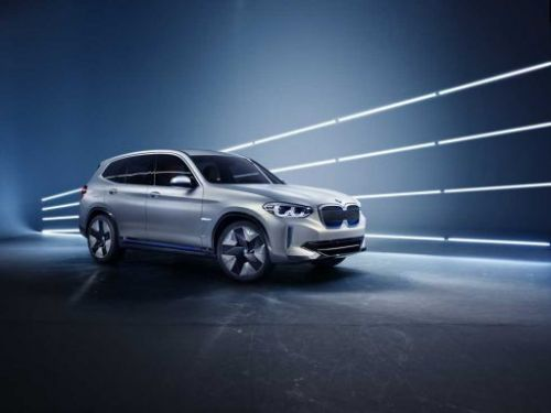 BMW Concept iX3 EV gets official in China