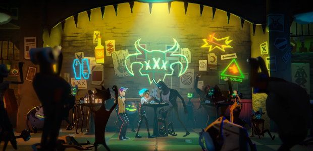 Afterparty trailer shows Oxfenfree studio's hellish bender