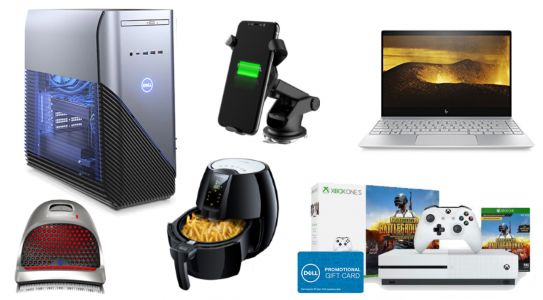 ET Deals Roundup: $22 Qi Car Charger Mount, Dell 512GB SSD Laptop for $580, and more